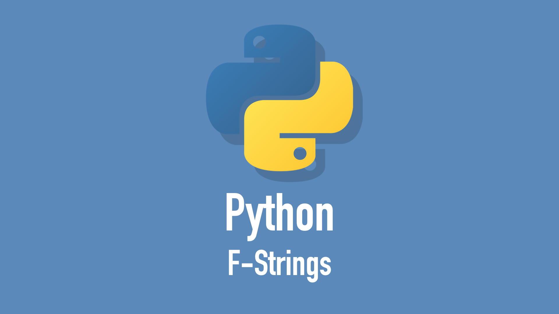 Formatted string in Python