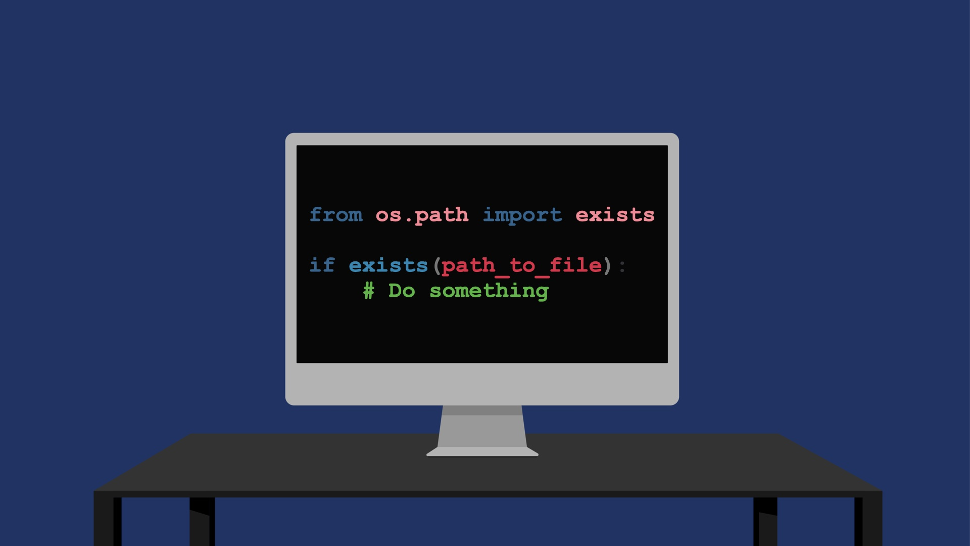 Python how to check if a file exists