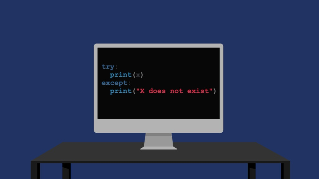 Try Catch in Python