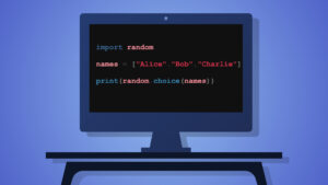 Python random element from list