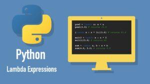 Lambdas in Python