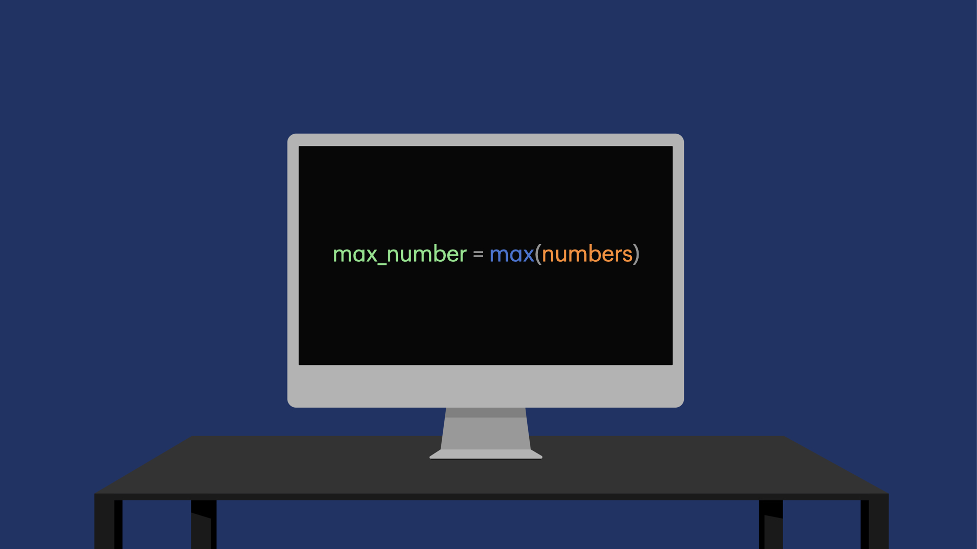 Python how to find the largest number in a list